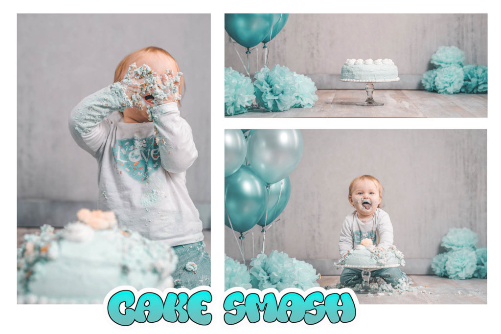 Cake-Smash-Shooting-Fotostudio-Baby-Fotografin-Düsseldorf