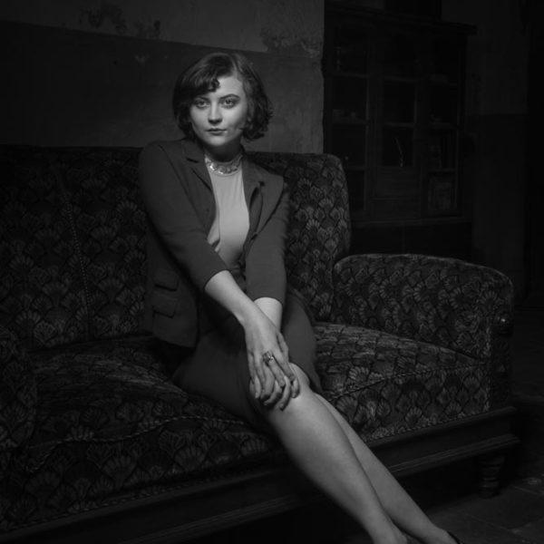 Model - Frau - Retro - Vintage - Duesseldorf - Wuppertal - Fotograf - Schwarzweiss - Fotografie - Michael Wipperfuerth