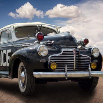 Polizeiauto - Oldtimer