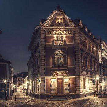 Altstadt - Düsseldorf - kahle wände Wandbild