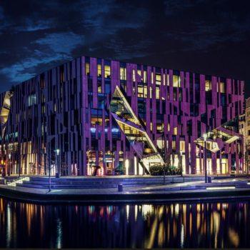 Kö-Bogen - Breuninger - Düsseldorf - Nacht