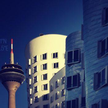 Rheinturm - Medienhafen - Gehry - Düsseldorf