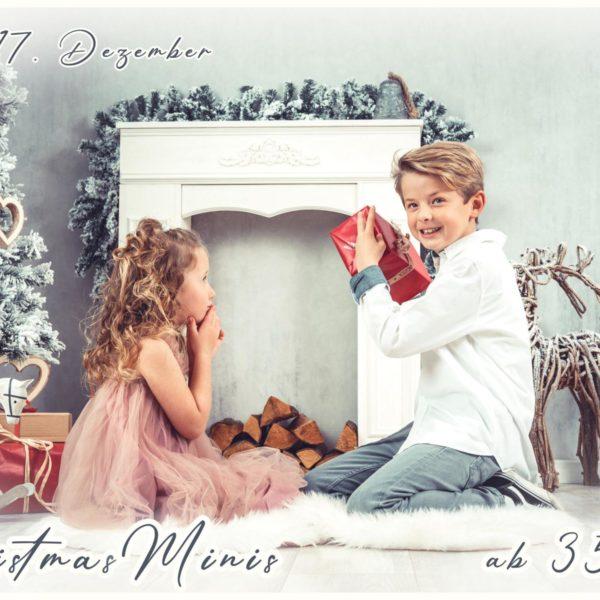 Christmas minis - Weihnachtsfotos -Kinder -Familie -Fotostudio -Fotograf - Düsseldorf - Weihnachten